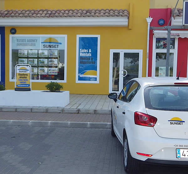 Sunset Property Sales & Rentals Javea - Offices