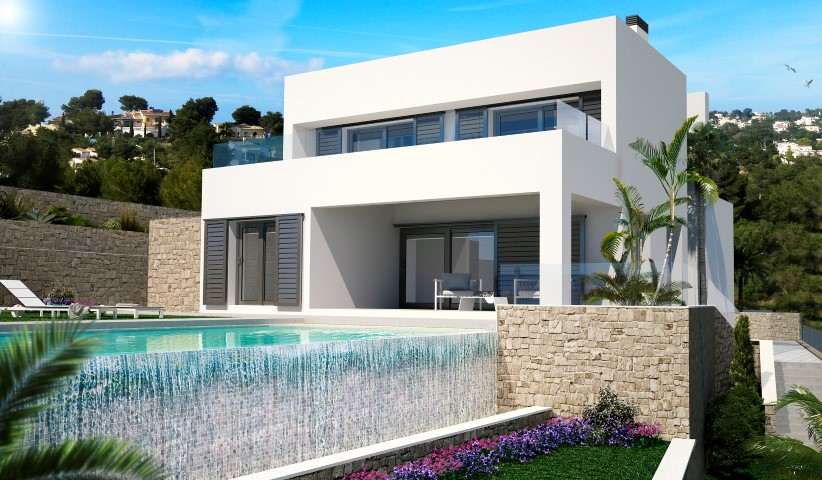 Nueva construcci n propiedades en venta 3 dormitorios casa for Gimnasio javea